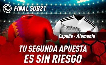 Apuestas España Sub21 Alemania Sub21 Sportium