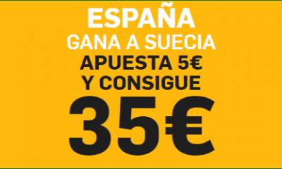 Apuestas España Suecia Betfair Supercuota
