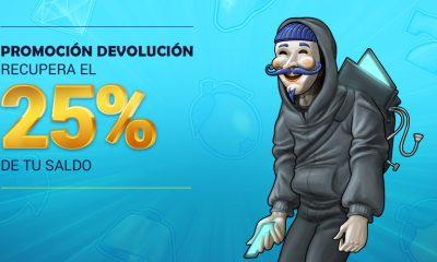 Recupera el 25% de tus perdidas en TodoSlots