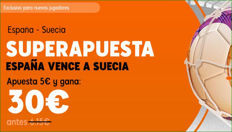 Superapuesta 888 Sport España Suecia