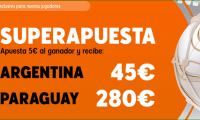 Superapuesta Argentina Paraguay Copa América