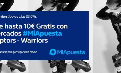 Apuesta Final NBA Golden State Warriors Toronto Raptors