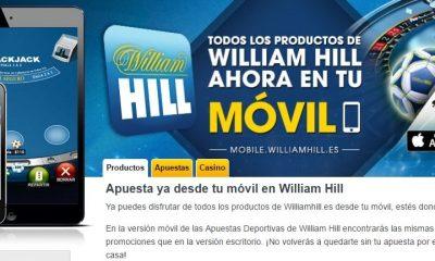 App Móvil William Hill