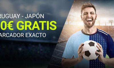 10€ GRATIS Uruguay - Japón Apuestas