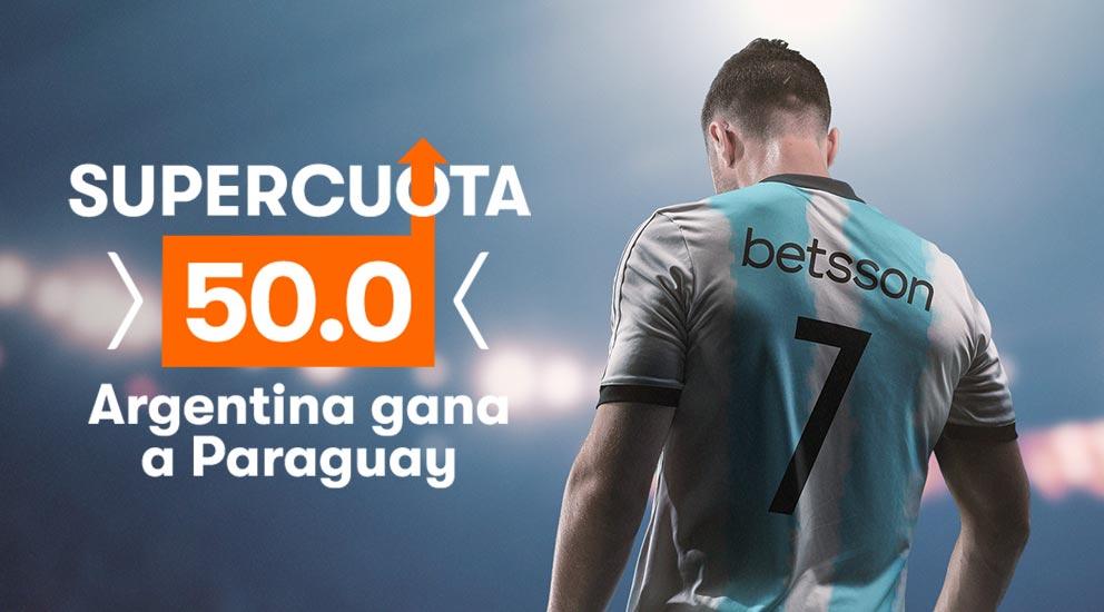Argentina Paraguay Apuestas Betsson