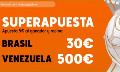 Superapuesta Brasil Venezuela 888 Sport