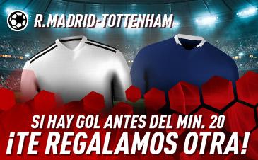 Apuestas Real Madrid Tottenham Sportium