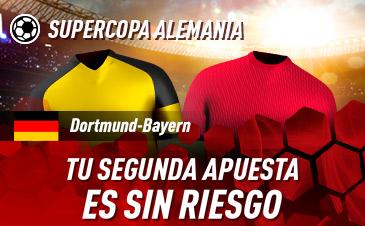Supercopa Alemania Apuestas Borussia Dortmund Bayern Munich