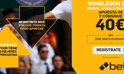 Betfair Apuestas Wimbledon Nadal