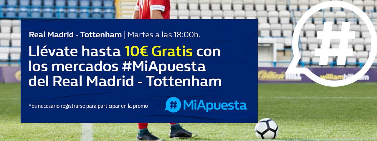 #MiApuesta Real Madrid Tottenham Audi Cup