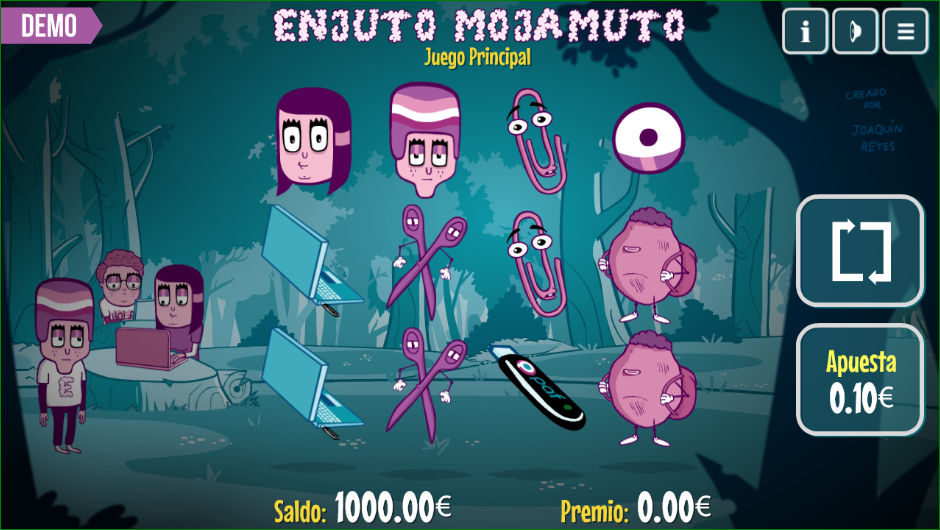 Enjuto Mojamuto Paf Casino Slot