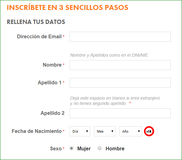 Registro Botemania Bingo Online