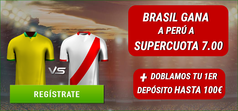 Supercuota Sportium Brasil Perú