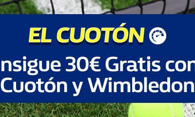 Cuotón Wimbledon William Hill