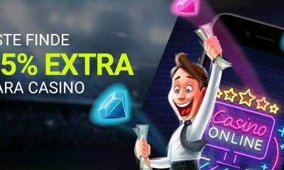 Luckia Casino 25% EXTRA