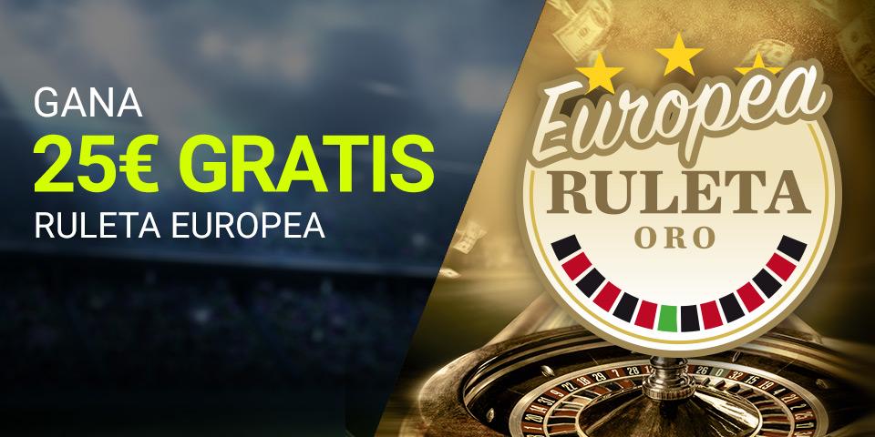Luckia Casino 25€ GRATIS