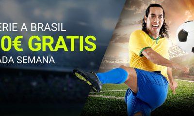 10€ GRATIS Luckia Seria A Brasil