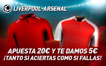 Apuestas Liverpool - Arsenal