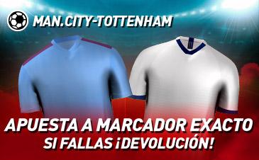 Apuesta Manchester City Tottenham