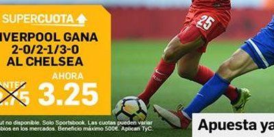 Apuestas Betfair Supercopa Europa Liverpool Chelsea