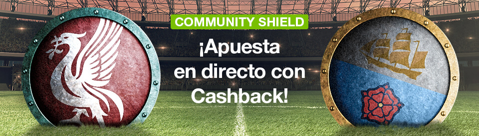 Apuestas Community Shield Liverpool Manchester City