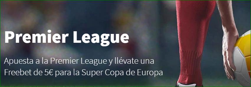 Apuesta Gratis Premier League Betsson