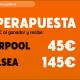 Superapuesta Supercopa Europa Liverpool Chelsea