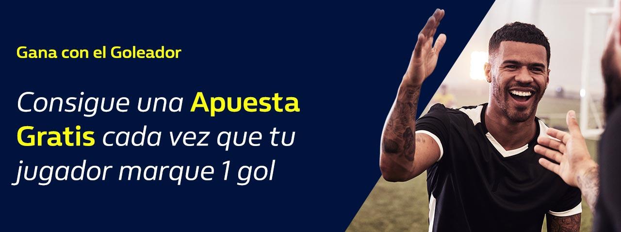 Apuesta Gratis Máximo Goleador