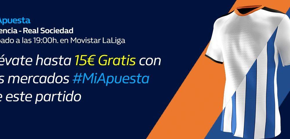 #MiApuesta Valencia Real Sociedad