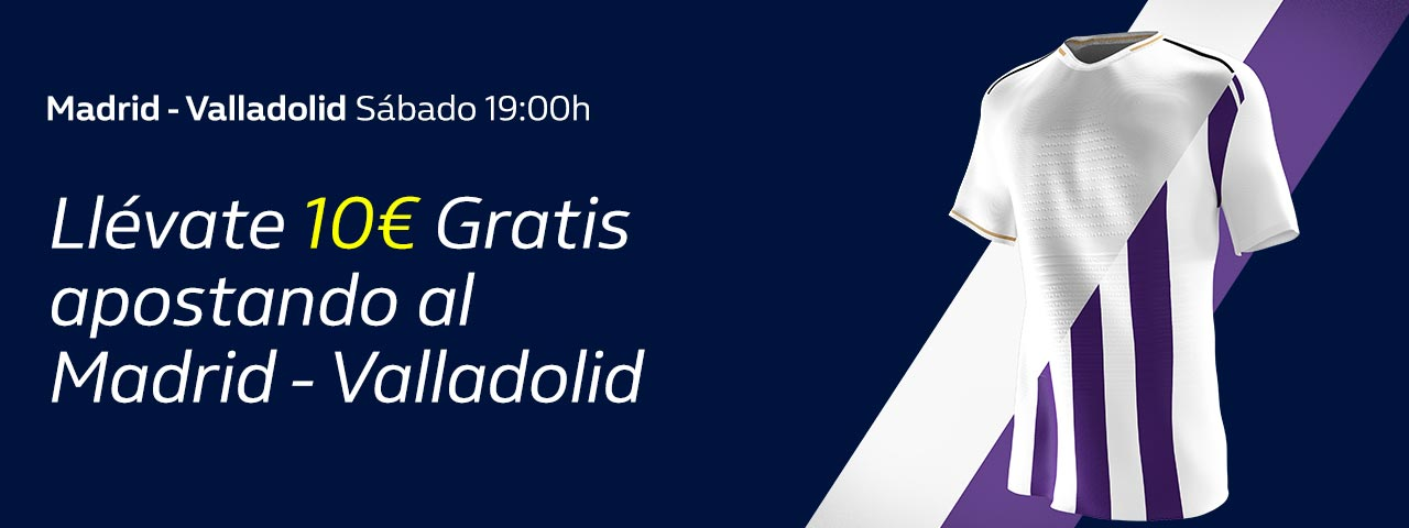 Apuesta Real Madrid – Valladolid
