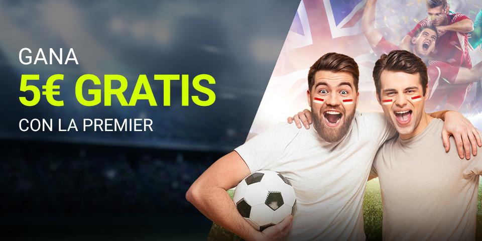 Apuesta GRATIS Premier League