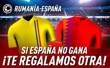 Apuestas Rumanía España