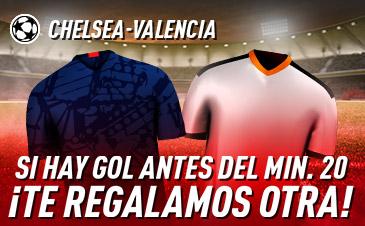 Apuesta Chelsea Valencia Champions League