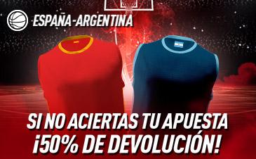 Apuestas España Argentina Final