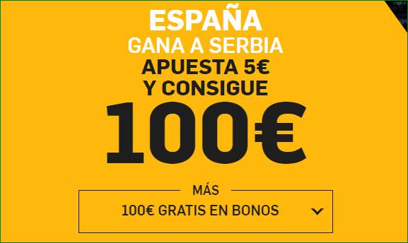Apuesta España Serbia Supercuota