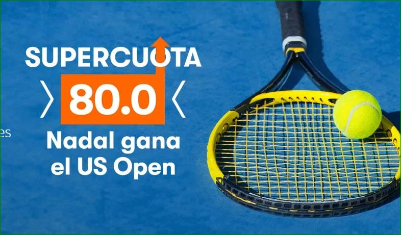 Apuesta Rafa Nadal Supercuota US Open