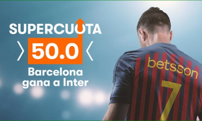 Apuestas Supercuota FC Barcelona Inter