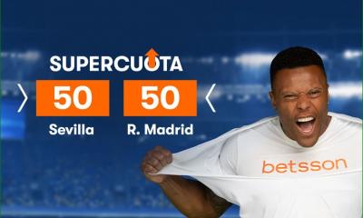 Apuesta con Supercuota Sevilla Real Madrid