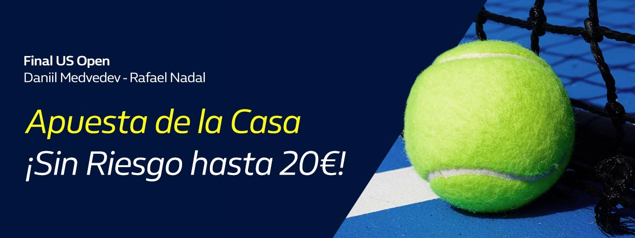 Apuesta Final US Open Medvedev Nadal