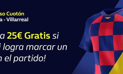 Apuesta CUOTÓN FC Barcelona Villarreal