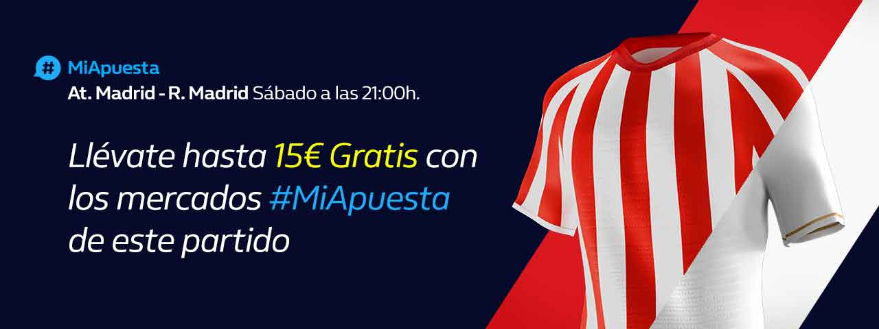 #MiApuesta At.Madrid_Real Madrid Apuestas