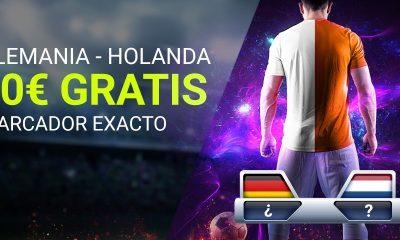 Apuesta Alemania Holanda 10€ GRATIS