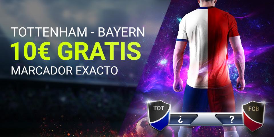 Apuesta Segura Tottenham - Bayern