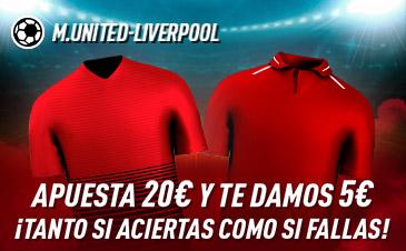 Apuesta Premier Manchester United Liverpool