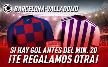 Apuesta Segura FC Barcelona Real Valladolid