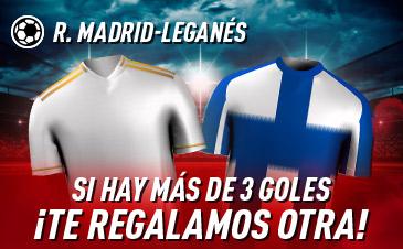 Apuesta Real Madrid Leganés