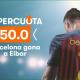 Apuestas Supercuota Eibar FC Barcelona