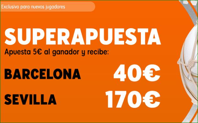 Supercuota FC Barcelona Sevilla