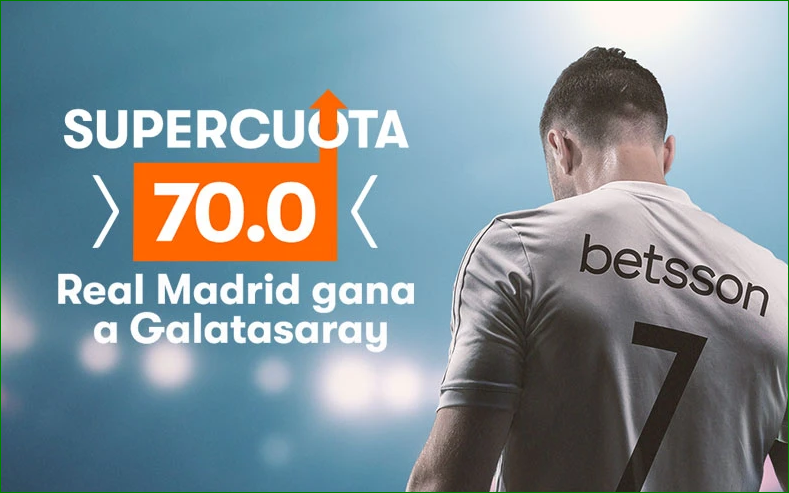 Apuesta Supercuota Galatasaray Real Madrid