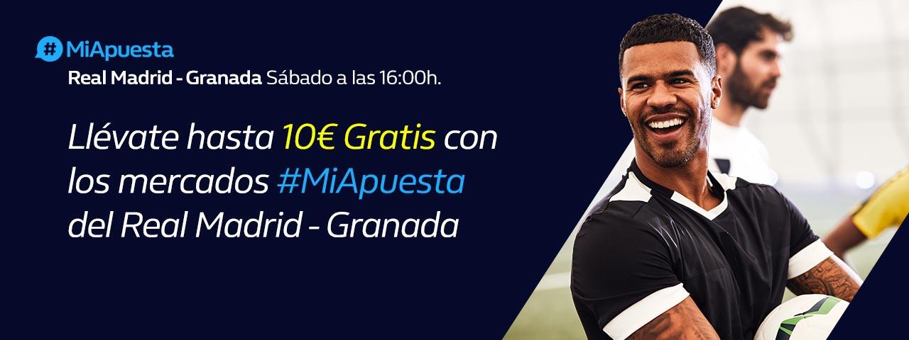 #MiApuesta Real Madrid Granada